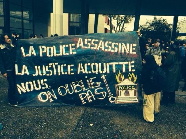 Manif partie de Rennes 2 jeudi 13 novembre 2014