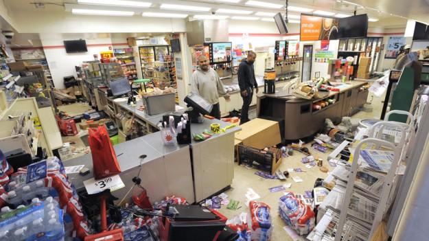 supermarché pillé