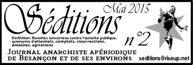 Télécharger le 2ème numéro de 'Séditions' au format PDF