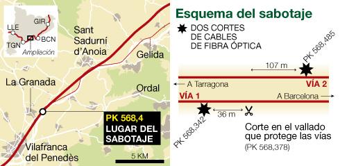 La presse espagnole privilégie la piste du sabotage
