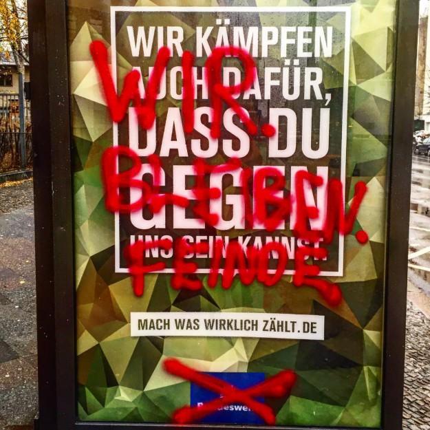 """Nous demeurons ennemis"", Berlin"