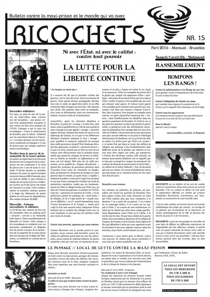 Lire et/ou télécharger le 15ème numéro au format PDF