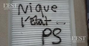 graffiti-sur-les-locaux-du-ps-ou-etaient-aussi-inscrits-ils-ont-peur-on-se-vengera-photo-dr-1463163052