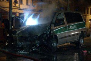 PolizeiinFlamme