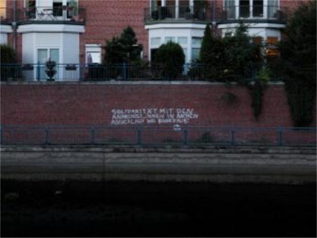 """""""Solidarité avec les anarchistes accusées de braquages de banque à Aachen"""""""